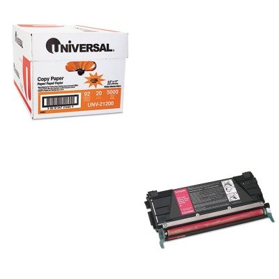 KITLEXC5220MSUNV21200 - Value Kit - Lexmark C5220MS Toner (LEXC5220MS) and Universal Copy Paper (UNV21200)