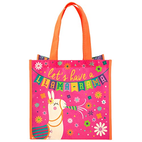 Stephen Joseph Girls' Big' Recycled Gift Bags, Llama, No Size