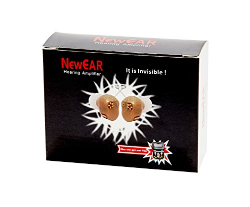NewEAR Hearing Amplifier Ear ITC (Pair) ''Extra Small'' Second Generation by NewEar (Image #6)