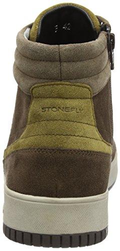 Stonefly Herren Dover 2 High-Top Braun (Oak Brown/Almonds 38)
