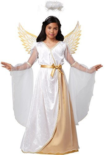 Guardian Angel Child Costumes (Guardian Angel Costume - Medium)