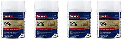 3M Bondo Home Solutions Wood Filler (4-(Pack))
