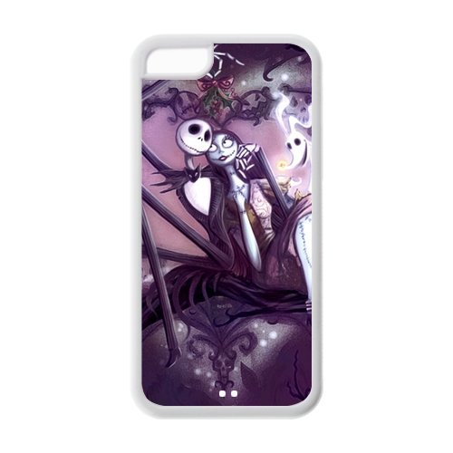 Creative Funny Picture of Jack Sally The Nightmare Before Christmas iPhone 5C New Style Durable Case (Easy Halloween Costume Ideas For Two)