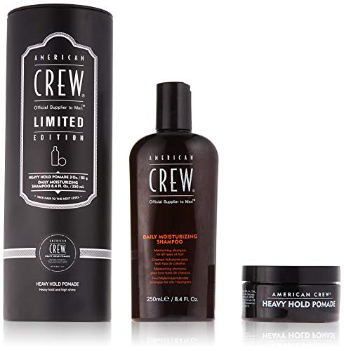 American Crew Limited Edition Tin Duo Heavy Hold Pomade Gift Set, 1.141 ()