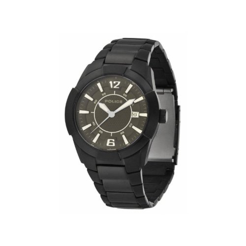 Police Gents Black Steel Bracelet With Grey Dial PL.12547JSB/61MA Watch