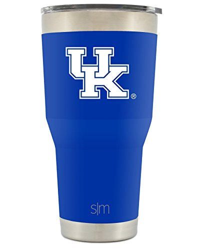 Simple Modern University of Kentucky 30oz Cruiser Tumbler - Vacuum Insulated Stainless Steel Travel Mug - Wildcats Tailgating Hydro Cup College Flask