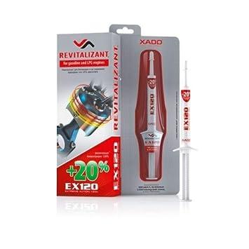XADO Aditivos para aceites de protección contra el desgaste del motor EX120 para motores de gasolina y autogás: Amazon.es: Coche y moto