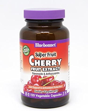 BlueBonnet Super Fruit Cherry Fruit Extract Supplement, 120 Count