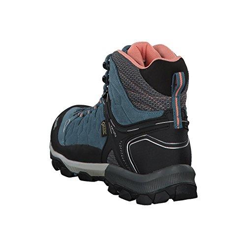 para Senderismo Jeans Piel Mujer Zapatillas de Meindl de Lachs 1qUWTaqz