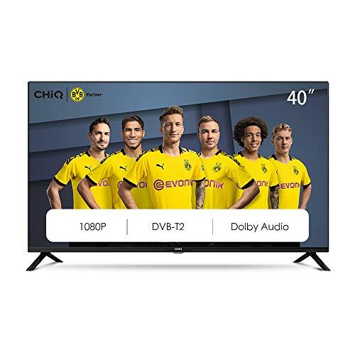 CHiQ L40G4500 40 inch Full HD LED LCD TV 40 inch (101 cm), titeltuner (DVBT/T2/C/S2), multimediaspeler via USB-poort TV…