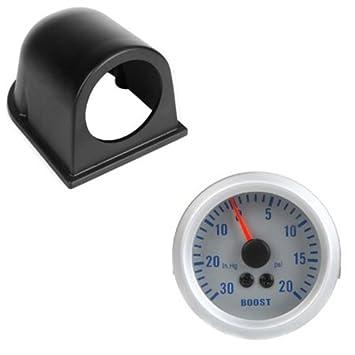 SODIAL (R) Turbo Boost/medidor de vacío para Auto Car 2 pulgadas 52