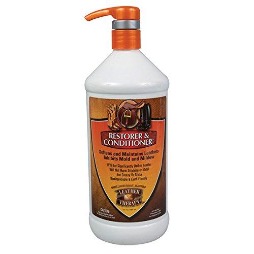 Iowa Leather - Leather Therapy Restorer & Conditioner 32 oz