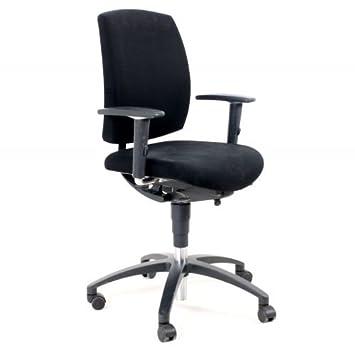 Chaise De Bureau Quotdrabert Noir Etoile A 5 Pied D