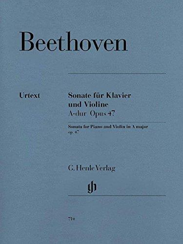 Sonata for Piano and Violin A major (