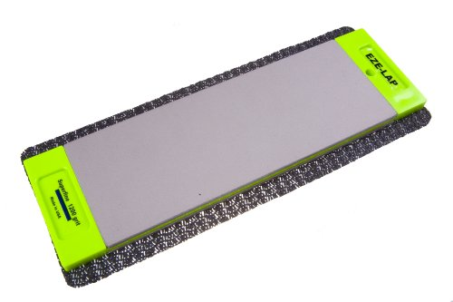 EZE-LAP DD8SF/F 3 by 8 Double Sided Diamond Sharpening Stone SF/F, Non Skid Pad Included
