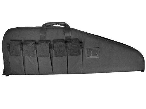 Ultimate Arms Gear Heavy Duty Deluxe 42 Inch Rifle / Shotgun Tactical Case -Black Color
