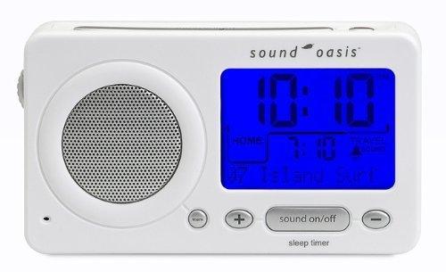 Sound Oasis S-850W Travel Sleep Sound Therapy System, White by Sound Oasis by Sound Oasis (Image #1)