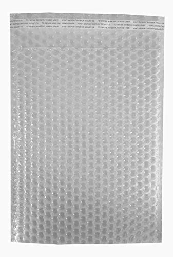 (Heavy Duty Bubble Bags - Self-Sealing, Double Walled, Clear Bubble Pouches - Protective Bags for Shipping, Storage, and Moving - 8