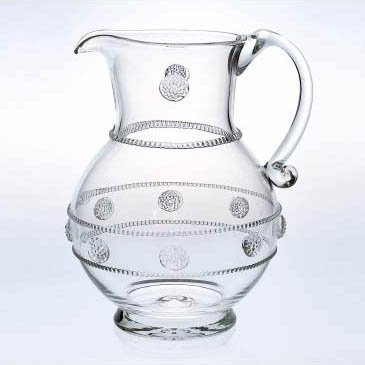 Juliska Isabella Clear Large Round Pitcher