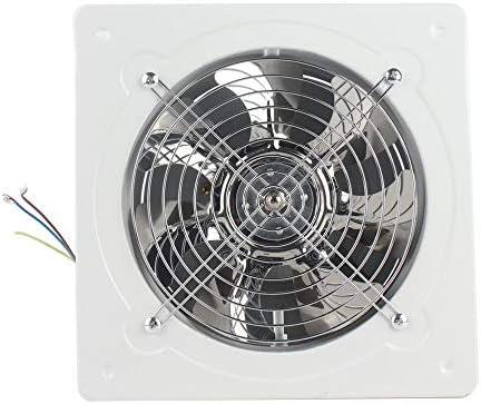 Extractor de ventilación Industrial Metal Axial Extractor Ventilador de Aire Comercial Funcionamiento de bajo Ruido Estable - Negro: Amazon.es: Hogar