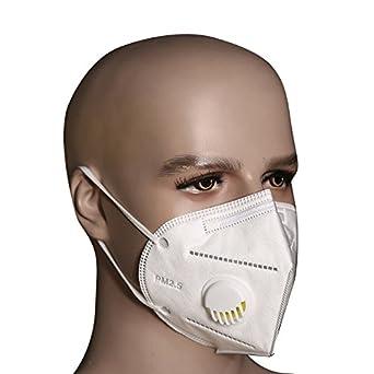 Bllomsem 5pcs Cara Máscara Filtrar Antipolvo PM2.5 ...