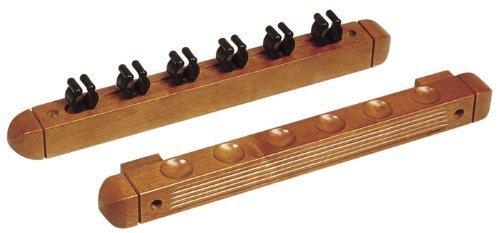 Soporte de pared de madera para 6 Colas Winsport Wandhalter 6er