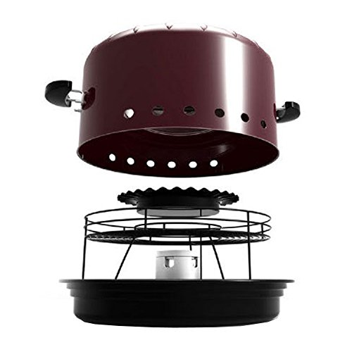 Characin Ceramic Charcoal Barbecue Direct Fired Oven 220v by characin