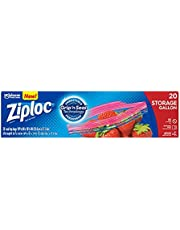 Ziploc Storage Gallon Bag, 20ct