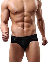 Hot Selling Mens Underwear Briefs Cotton Low Waist Underpanties for Men Male Panties Interior Hombre