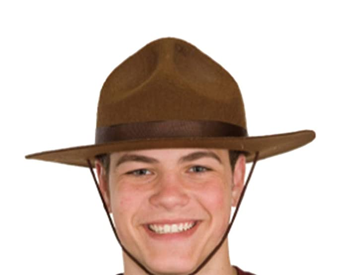 Amazon.com  Ranger Or Canadian Mountie Hat a07ca91303f