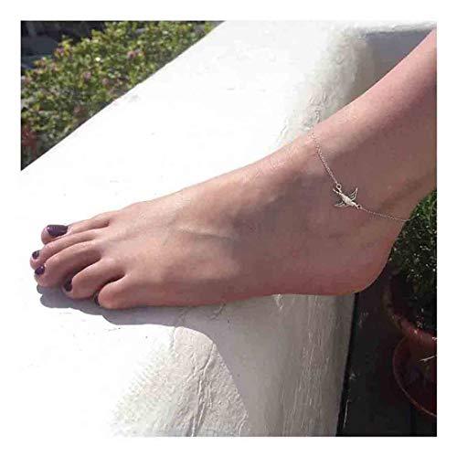 Olbye Silver Dove Anklet...