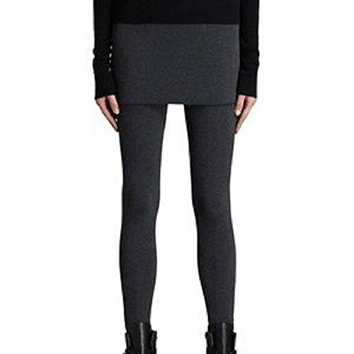 All Saints Skirted Leggings-XS Charcoal Grey from AllSaints