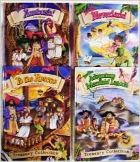Peter Pan Pop Up Book Set Of 4 Treasury Collection Adventure At Mermaid Lagoon Ambush Neverland To The Rescue