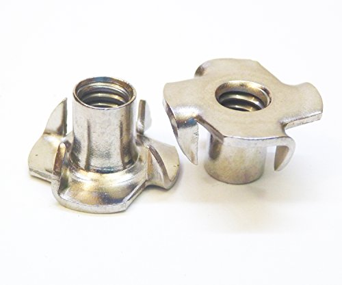 Stainless T-Nuts 3/8
