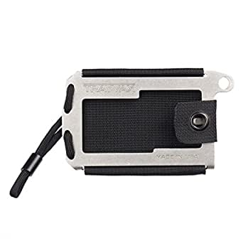 Trayvax Axis Wallet (Stainless Steel)