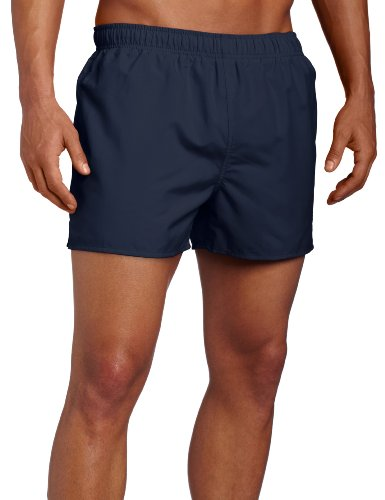 Speedo Surf Runner Volley Swim Trunks, Navy/Blue, Large