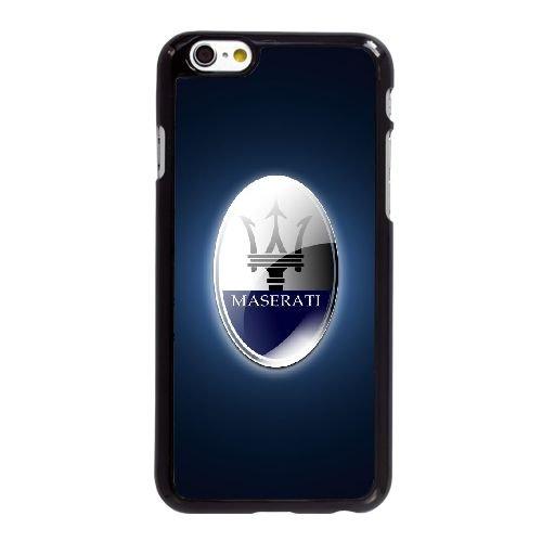 O9F87 maserati logo A2L2BU coque iPhone 6 Plus de 5,5 pouces cas de couverture de téléphone portable coque noire KP4YPW7NP