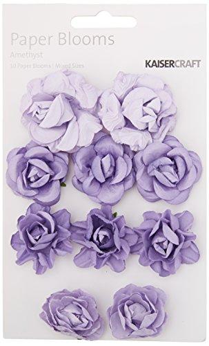 Brad Bloom Flower - Kaisercraft Amethyst Paper Blooms