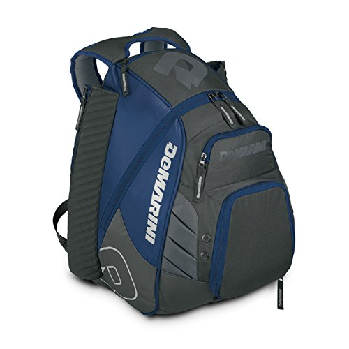 DeMarini Voodoo Rebirth Backpack, Navy (Backpack Barrel)