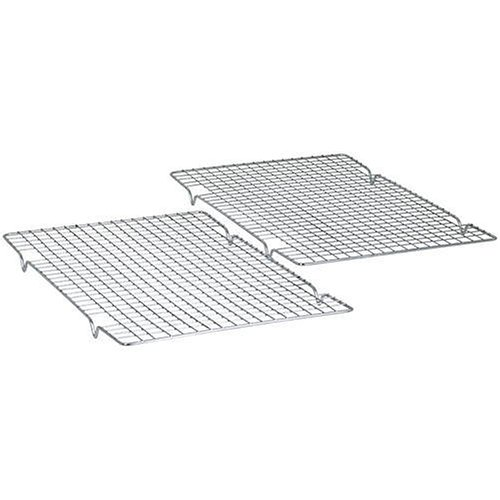 Baker's Secret 10-by-16-Inch Nonstick Cooling Rack, Set of 2