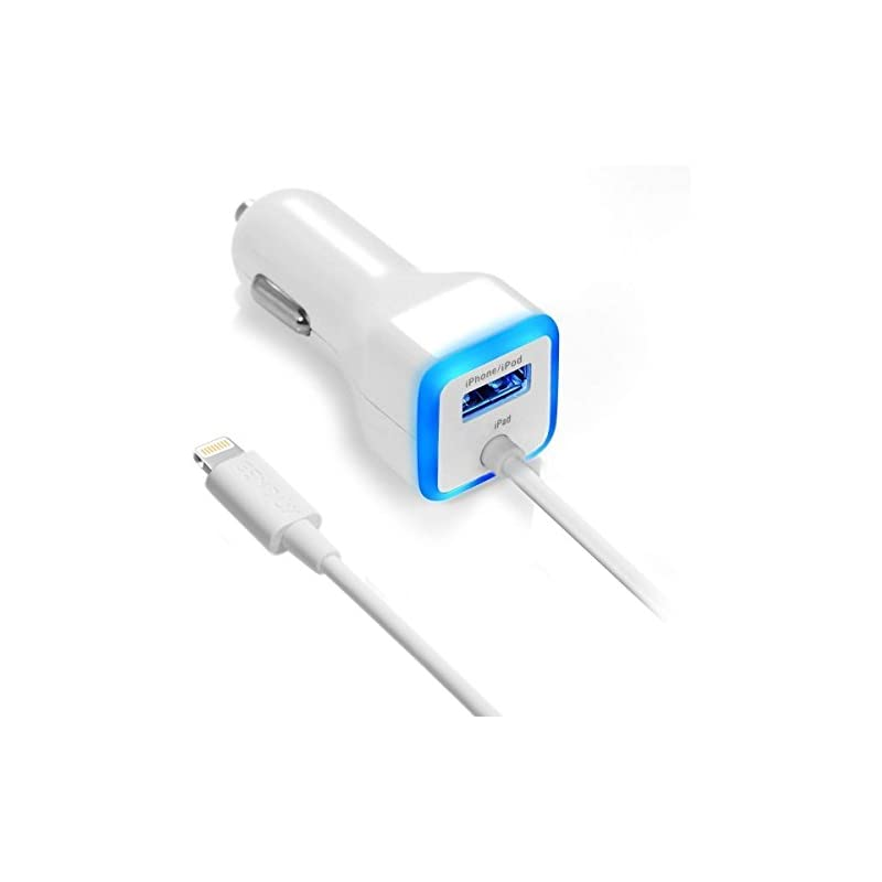 iPhone Car Charger, [Apple MFI Certified