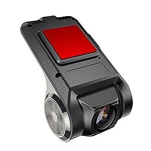 Anytek Cámara De Coche X28 1080P FHD Coche DVR Cámara Grabadora WiFi ADAS G- Sensor Dash CAM Grabación en Bucle y Detección de Movimiento - Matefield: ...
