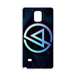 Linkin Park Samsung Galaxy Note 4 Cell Phone Case White Phone cover T7418639