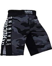 Hardcore Training Night Camo 2.0 Fight Shorts Hombre Pantalones Cortos MMA BJJ Boxeo Grappling Fitness No Gi