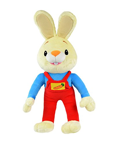 BUNNY OF THE YEAR - Baby First TV: Jumbo Harry the Bunny Plush Toy - Stuffed Animals for the Perfect Baby Shower Gift, Baby First Year Plush Toys, Infant Toddler Baby Toys - (Baby First Tv Characters)