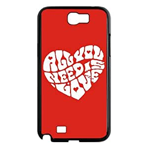 John Lennon Samsung Galaxy N2 700 Cell Phone Case Black JR5213862