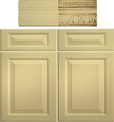 Retique It Chalk Furniture Paint by Renaissance DIY, 16 oz (Pint), 23 Naples Yellow