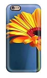 Forever Collectibles Orange Flowers Hard Snap-on Iphone 6 Case