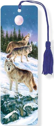 Wolves 3-D Bookmark (Lenticular Bookmark) from Peter Pauper Press