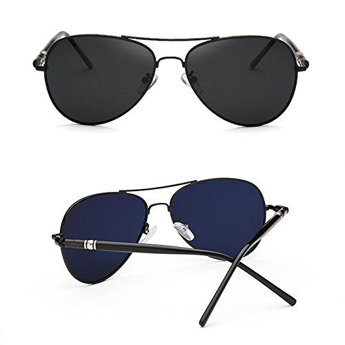 Gafas estilo UV400 sol A Gafas de Gafas 100 SSSX Gafas polarizadas sol de deportivas Gafas para Color hombre sol B de conducir sol para aviador de BnRSna